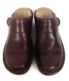 Clarks Shoes Womens 6 Brown Leather Loafers #Clarks #LoafersMoccasins #WeartoWork
