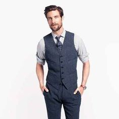 If you're wearing a vest, always keep the bottom button unbuttoned. | 27 Unspoken Suit Rules Every Man Should Know