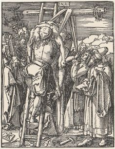 The Descent from the Cross After Small Passions Albrecht Durer 1471–1528