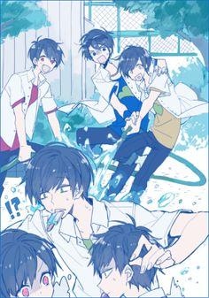 Find images and videos about anime, osomatsu-san and ichimatsu on We Heart It - the app to get lost in what you love. Boboiboy Anime, Anime Art, Anime Siblings, Osomatsu San Doujinshi, Comedy Anime, Image Manga, Kawaii, Ichimatsu, Anime Kunst
