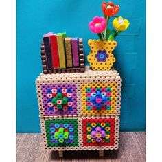 Chest - Furniture perler beads by riguccimonamour