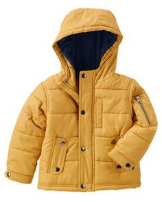 Fleece-Lined Bubble Jacket