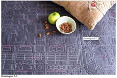 one of these customizable city quilts will be my future bedspread