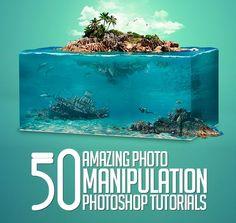 50 Amazing Photoshop Photo Manipulation Tutorials #photomanipulation #photoshoptutorials #manipulationart #photoeffect