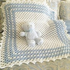 37 ideas crochet baby blanket boy easy girls for 2019 Baby Afghan Crochet Patterns, Baby Boy Crochet Blanket, Baby Girl Blankets, Knitting Patterns, Baby Afghans, Crochet For Boys, Baby Quilts, Baby Knitting, Creations