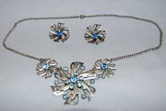 Vintage / Necklace / Necklace / Rhinestone / by AmericanHomestead, $15.00
