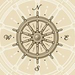 Buy Vintage Ship Wheel by iatsun on GraphicRiver. Vintage ship wheel in woodcut style. Vector illustration with clipping mask. Ship Wheel Tattoo, Maritime Tattoo, Boat Steering Wheels, Boat Wheel, Tatuagem Old School, Compass Rose, Compass Art, Compass Design, Medical Illustration