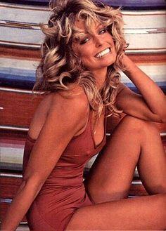 Farrah's Iconic Swimsuit Poster