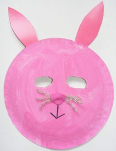 Click Pic for 50 Easter Crafts for Kids - Paper Plate Bunny - Easter Craft Ideas for Preschoolers