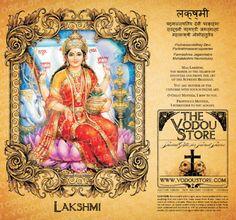 7-Day Candle Label - Lakshmi