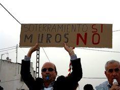 El muro de Murcia se construye con una obra ilegal - Soterramiento Ya!