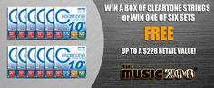 The Music Zoo · Free Gear Giveaway The Music Zoo is picking six winners to receive a set of Cleartone Electric Guitar Strings ($19 retail value)! Plus, a Grand Prize Winner will receive an entire b…