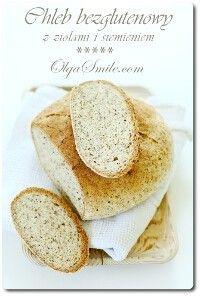 Bread with herbs Sin Gluten, Vegan Gluten Free, Gluten Free Recipes, Bread Recipes, Snack Recipes, Cooking Recipes, Polish Recipes, Dessert, Bread Baking