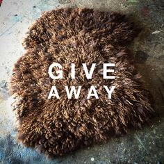 Hello lovely ones! I would like to let you know that I'm giving away one of my hand felted rugs. Please follow link in profile and check out my Facebook page for details. Best of luck  #feltindie #giveaway #justwoolnoskin #rugs #raw #sheepskin #wild #eco #fur #soft #natural #organic #vegetarian #textiles #interiors #interiordesign #homedecor #homewares #design #thatsdarling #fashion #byronbay #bangalow #newrybar #nordic #instyle #slowdesign #fireplace #winter #art