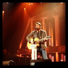Chris at the Opry 5-8-12