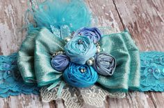 Hey, I found this really awesome Etsy listing at https://www.etsy.com/listing/213912311/frost-princess-boutique-headband-silk