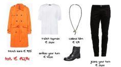 Outfit firmato VESTI COOL, VESTI LOW COST...protagonista l'arancione! www.glam4two.com