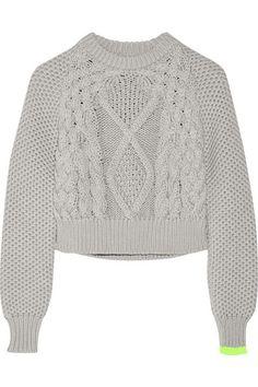Light-gray cotton Slips on 100% cotton Dry clean Designer color: Blue Fox/ Yellow