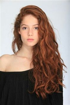 Image result for curly ginger hair side parting