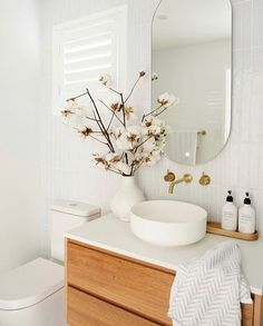 My Bathroom Renovation Revealed — Adore . - My Bathroom Renovation Revealed — Adore Home Magazine - Bathroom Renos, Bathroom Renovations, Home Renovation, Home Remodeling, Bathroom Ideas, Bathroom Organization, Master Bathrooms, Bathroom Mirrors, Bathroom Cabinets