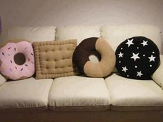 Donuts Pillow   Different Design