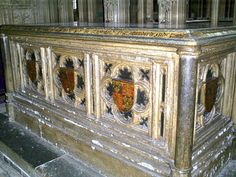 Tomb of Arthur Tudor, Prince of Wales, the first husband of Katharine of Aragon.