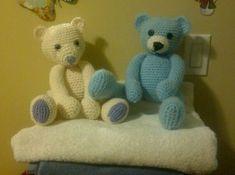 Teddy Bear free crochet pattern on Beautiful Nightmare at http://0obeautifulnightmare0o.wordpress.com/2011/04/21/teddy-bear/