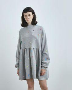 Lazy Oaf Random Icon Sweater Dress - Everything - Categories - Womens