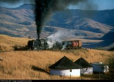 Net Photo: SAR 4074 South African Railways Steam at Creighton, South Africa by John West Train Tracks, Train Rides, African Hut, South African Railways, Old Steam Train, Steam Railway, Old Trains, Train Engines, Travel Oklahoma
