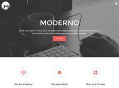 View the Moderno Template Details