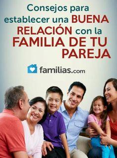 Consejos para establecer una buena relación con la familia de tu pareja