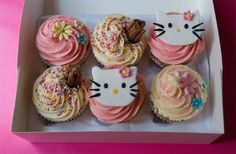 buns, cakes, chocolate, cupcakes