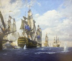 Geoff Hunt - The Battle of St. Vincent, 14th February 1797