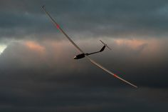 Glider . . . my mom used to fly these. Cool Huh!? Quiet flying