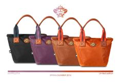 Orobianco Kappelletta, the everyday #bag that lights up your look in four different #warm #colors.