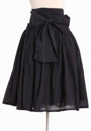 Retail Therapy Skirt in Black - $36.99