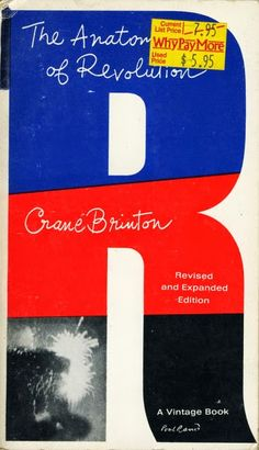 The Anatomy of Revolution by Crane Brinton. Cover Design by Paul Rand