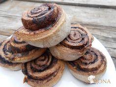 Fahéjas csiga estére is! | Klikk a képre a receptért! Hungarian Cake, Paleo Recipes, Pancakes, Cukor, Breakfast, Food, Sport, Happy, Diets