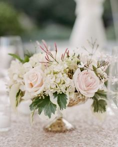 Photographer: Sylvie Gil Photography; Wedding reception centerpiece idea
