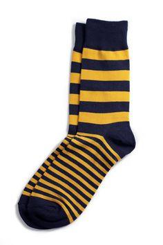 Richer Poorer - Walk On Navy Socks @Alexandra Dickinson Men