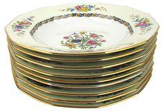 Limoges Porcelain Bowls, S/9 on OneKingsLane.com