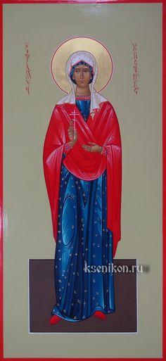 St. Christina - July 17 July 17, Religious Icons, Catholic Saints, Angels, Faith, Female, Saints, Angel, Loyalty