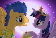 MLP: Flash Sentry x Twilight by bentomilk.deviantart.com on @deviantART