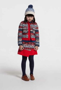 Oriental inspired kidswear from Kenzo Kids for fall 2014