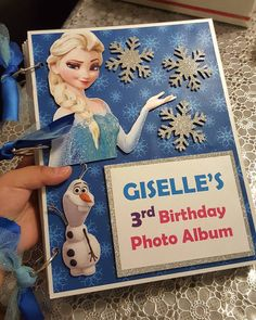 We are going to start offering custom handcrafted photo albums for your little ones bday party. They are made from heavy chipboard and all pages are covered in a matching print design with the theme. The album comes with 12 chipboard pages and is completely embellished throughout the whole book/album. They are sooooo cute and all your party photos will be in one cute personalized album instead of scattered everywhere.  Contact us today for a quote and to get your today; )  #invitations…