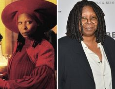 Then and Now #startrek #startrekthenextgeneration #tng #ussenterprised #1701D #guinan