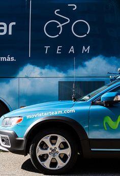 Movistar Team Vehicles