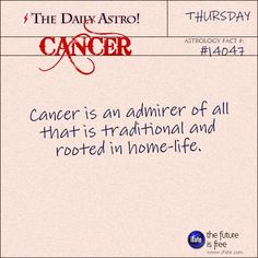 Daily Astro: Cancer Single?  Nothing that a LoveScope can't help with!   Visit iFate.com today!