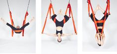 Yoga Hip & Shoulder Opener Exercises w/ the Yoga Trapeze