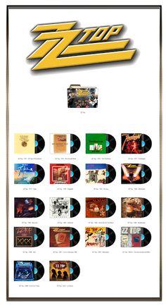Album Art Icons: ZZ Top